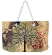 Monet Splashed Petals Weekender Tote Bag