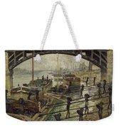 Monet The Coalmen 1875 Weekender Tote Bag