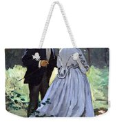 Monet's Bazille And Camille Weekender Tote Bag