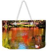 Monet's Garden In Hawaii 2 Weekender Tote Bag