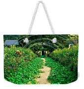 Monet's Gardens At Giverny Weekender Tote Bag
