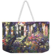 Monet's Home In Giverny Weekender Tote Bag