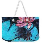 Monet's Lily Pond IIi Weekender Tote Bag