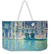 Monet's Palazzo De Mula In Venice Weekender Tote Bag