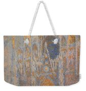 Monet's Rouen Cathedral -- West Facade Weekender Tote Bag