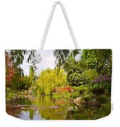 Monet's Water Garden 2 At Giverny Weekender Tote Bag