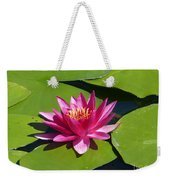 Monet's Waterlily Weekender Tote Bag