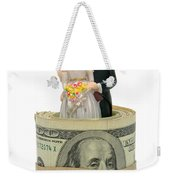Money And Happiness Weekender Tote Bag