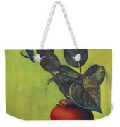 Money Plant - Still Life Weekender Tote Bag