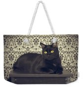 Mongo The Robust Cat Weekender Tote Bag