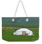 Mongolian Living Weekender Tote Bag