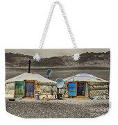 Mongolian Yurts Weekender Tote Bag