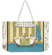 Monique Bath 2 Weekender Tote Bag by Debbie DeWitt