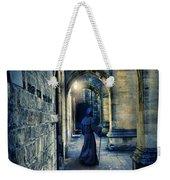 Monk In A Dark Corridor Weekender Tote Bag