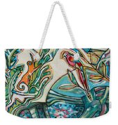 Monkey And Macaw Weekender Tote Bag