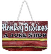 Monkey Business A Joke Shop Weekender Tote Bag