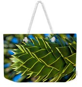Monkey Puzzle Tree D Weekender Tote Bag