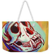 Monkey Skull Weekender Tote Bag