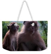 Monkey's Attention Weekender Tote Bag