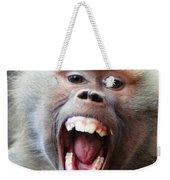 Monkey's Smile Weekender Tote Bag