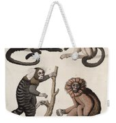 Monkeys Weekender Tote Bag