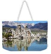 Mono Lake And Sierra Mtns Weekender Tote Bag