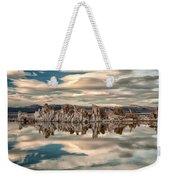 Mono Lake Reflections Weekender Tote Bag