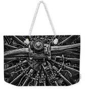 Mono Radial Weekender Tote Bag