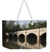 Monocacy Aqueduct On The C And O Canal In Maryland Weekender Tote Bag