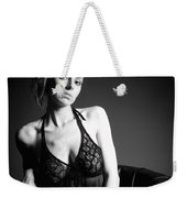 Monochrome Beauty Weekender Tote Bag