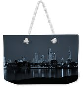 Monochrome Cityscape Weekender Tote Bag