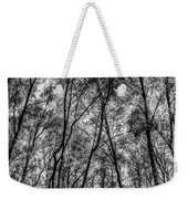 Monochrome Forest Weekender Tote Bag