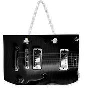 Monochrome Yamaha Weekender Tote Bag