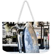 Monopoly Iron Statue In Philadelphia Weekender Tote Bag