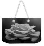 Monotone Rose Weekender Tote Bag