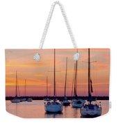 Monroe Harbor Sunrise Weekender Tote Bag