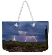 Monsoon Madness Strikes  Weekender Tote Bag