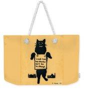 Monster Cat Weekender Tote Bag
