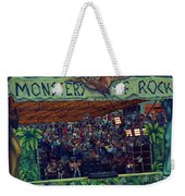 Monsters Of Rock Stage While A C D C Started Their Set - July 1979 Weekender Tote Bag