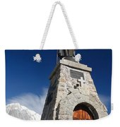 Mont Chetif With Small Chapel Weekender Tote Bag