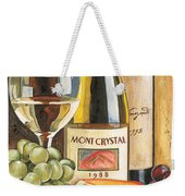 Mont Crystal 1988 Weekender Tote Bag by Debbie DeWitt