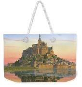 Mont Saint-michel Morn Weekender Tote Bag by Richard Harpum