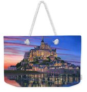 Mont Saint-michel Soir Weekender Tote Bag by Richard Harpum
