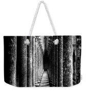 Mont St Michel Pillars Weekender Tote Bag