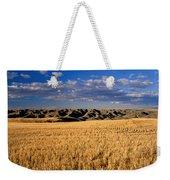 Montana   Field And Hills Weekender Tote Bag