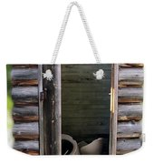 Montana Outhouse 02 Weekender Tote Bag