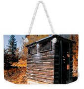 Montana Outhouse 03 Weekender Tote Bag