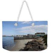 Montauk Port Long Island Weekender Tote Bag