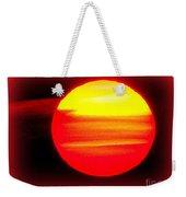 Montauk Sunset Abstract Weekender Tote Bag