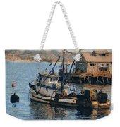 Monterey Fish Company Abstract Weekender Tote Bag